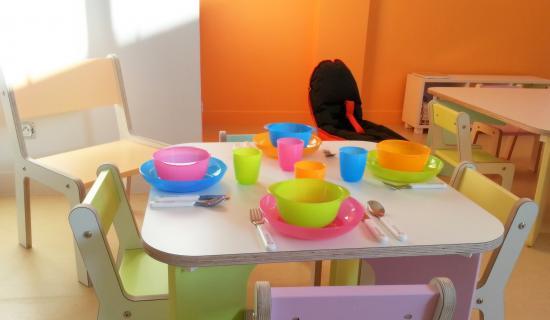 table repas Koala Kids