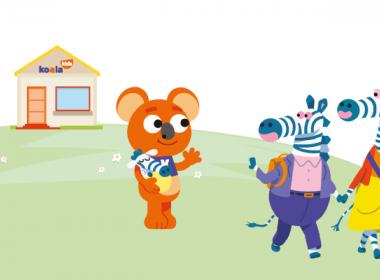 illustration koala kids micro crèche